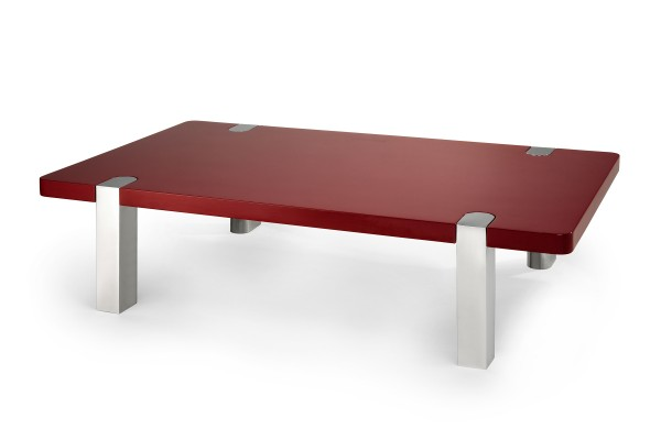 Bordeaux Red Chapman Coffee Table