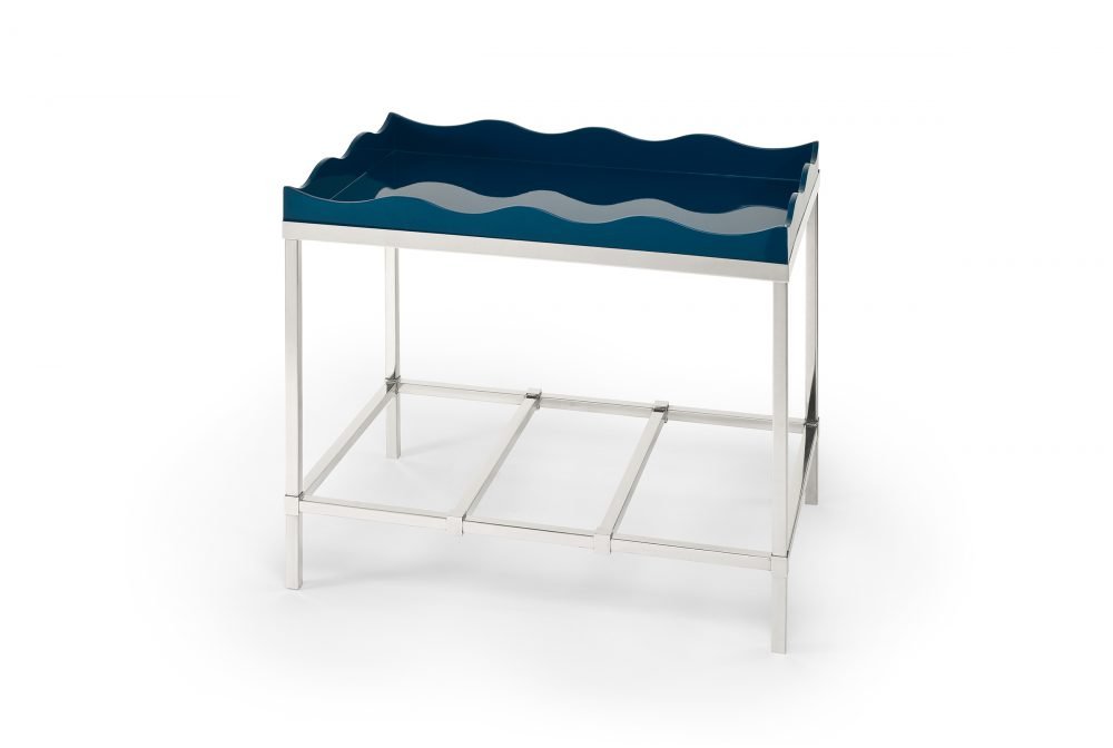 Belles Rives Side Table Marine Blue