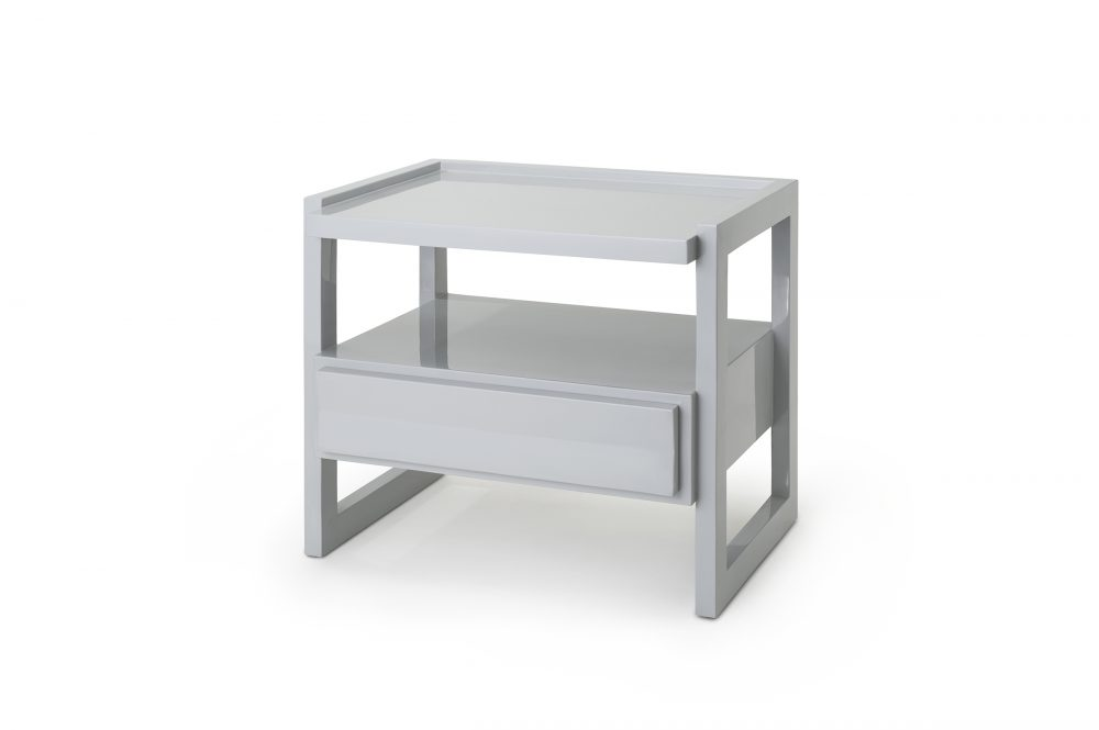 Pale Grey Hudson Nightstand