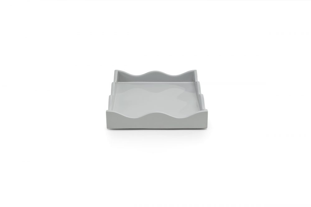 Pale Grey Small Belles Rives Tray from Rita Konig