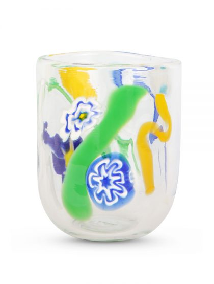 Squiggle-glass