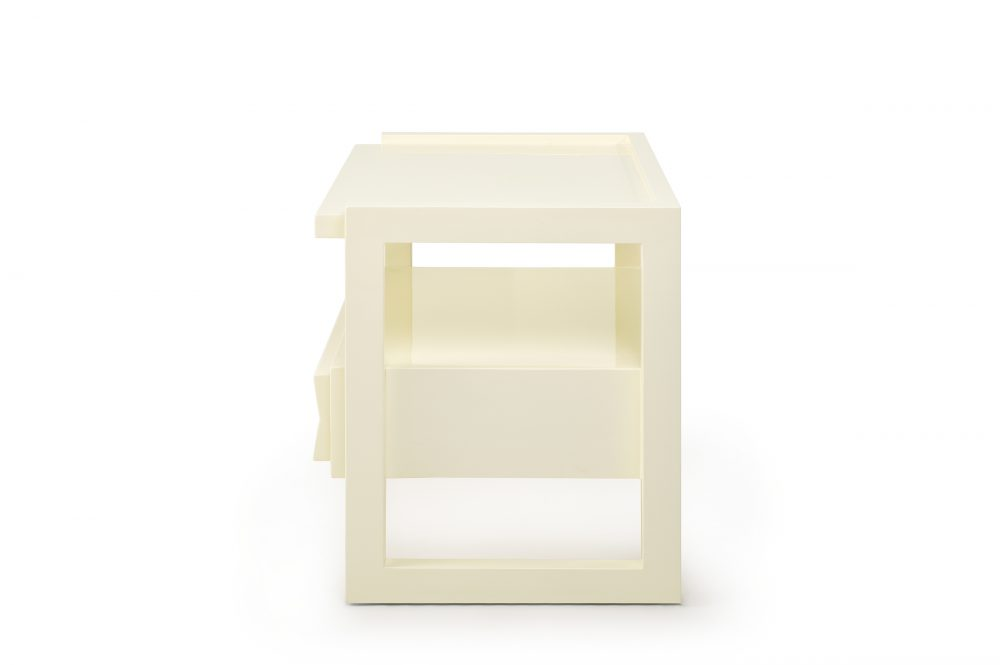 Off White Hudson Nightstand