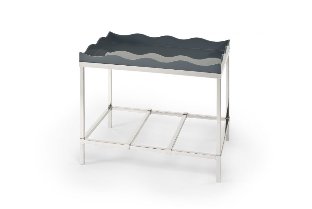Belles Rives Side Table Elephant Grey