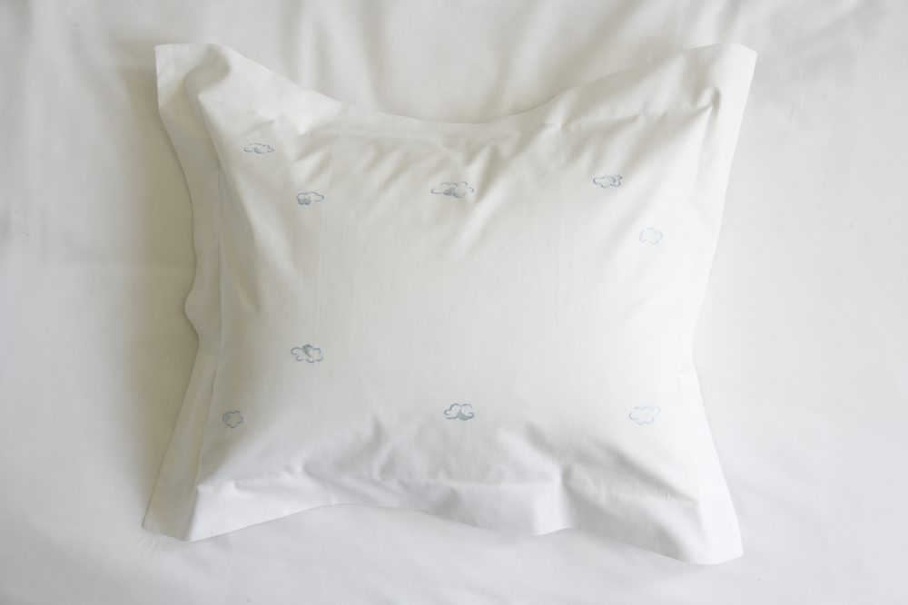 Clouds baby pillow