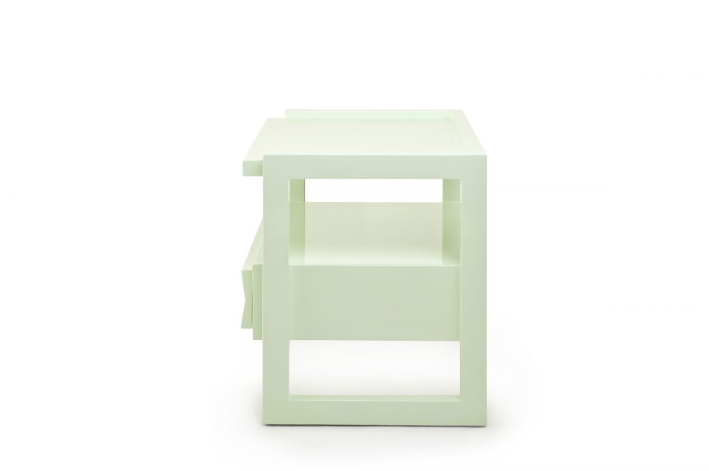 Ice Green Hudson Nightstand