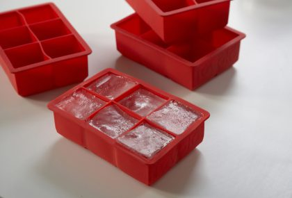 Giant Red Ice Cube Tray from Rita Konig