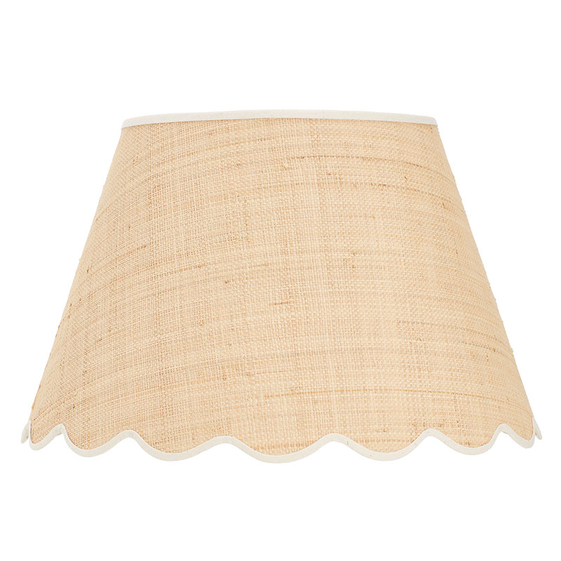 Matilda-Goad-scallop-shade-cream-16-inch