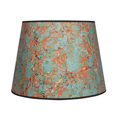 Lighting your home how to choose lampshades rita konig antique spot 16 lampshade red aloadofball Image collections
